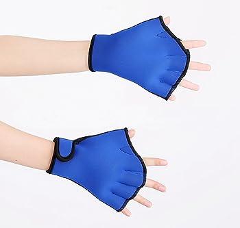 Geekercity Aquatic Fit Swim Training Gloves