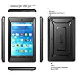 Fire HD 10 Case, SUPCASE [Heavy Duty] Case for 2015 Release Amazon Fire HD 10 Tablet 5th Generation [Unicorn Beetle PRO Series] Rugged Hybrid Protective Cover w Builtin Screen Protector (Black/Black)