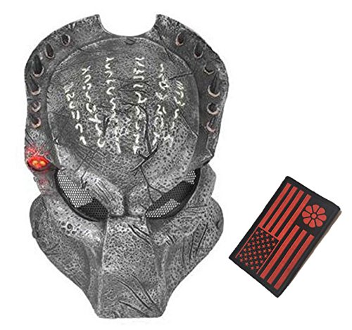 Eternal Heart WT606 Wire Mesh Alien Vs Predator AVP Wolf Full Face Protection Mask ()