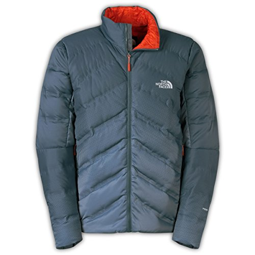 The North Face Fuseform Dot Matrix Down Jacket Mens Conqueror Blue Tri Matrix Print Xl