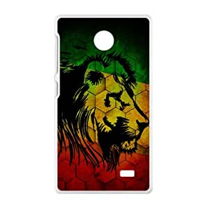Lonely Lion Cell Phone Case for Nokia Lumia X