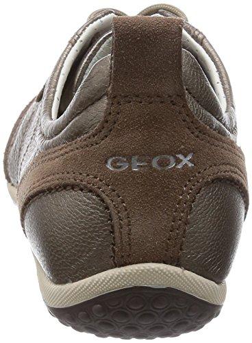 Scarpe Geox taupe Ginnastica Da D Vega C6029 Marrone Donna A vvRqtrA
