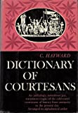 img - for Dictionary of Courtesans book / textbook / text book