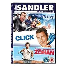 Adam Sandler Box Set: Click/Grown Ups/You Don't Mess With the Zohan [DVD] [2011] by Adam Sandler