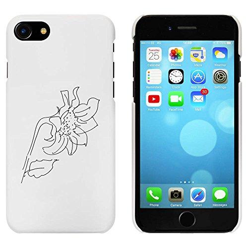 Blanc 'Tournesol' étui / housse pour iPhone 7 (MC00069212)