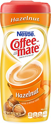 Nestle Coffee-Mate Coffee Creamer Hazelnut, 15 Ounce (Pack of 6)