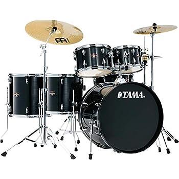 tama imperialstar complete drum set 6 piece hairline black home audio theater. Black Bedroom Furniture Sets. Home Design Ideas