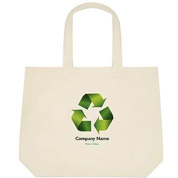 Amazon.com: vistaprint verde reciclar Deluxe bolsas: Beauty