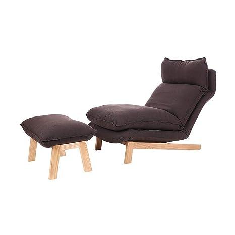 Amazon.com: Sillas CJC Sofá reposapiés reclinable reclinable ...