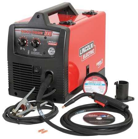 Lincoln Electric, K2696-1, Flux Core Welder, Handheld, 120VAC