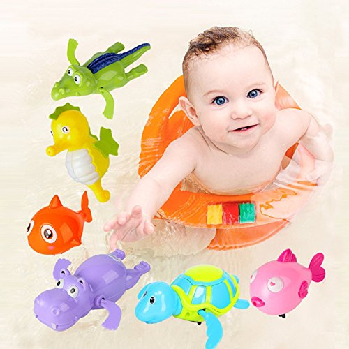 GGYYA Wind-up Bath Toys for Baby Toddler Bath S...