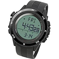 [LAD WEATHER] German Sensor Digital Compass Altimeter/barometer/weather Forecast/ Multi-function/ Outdoor Climbing/running/walking Sport Watch