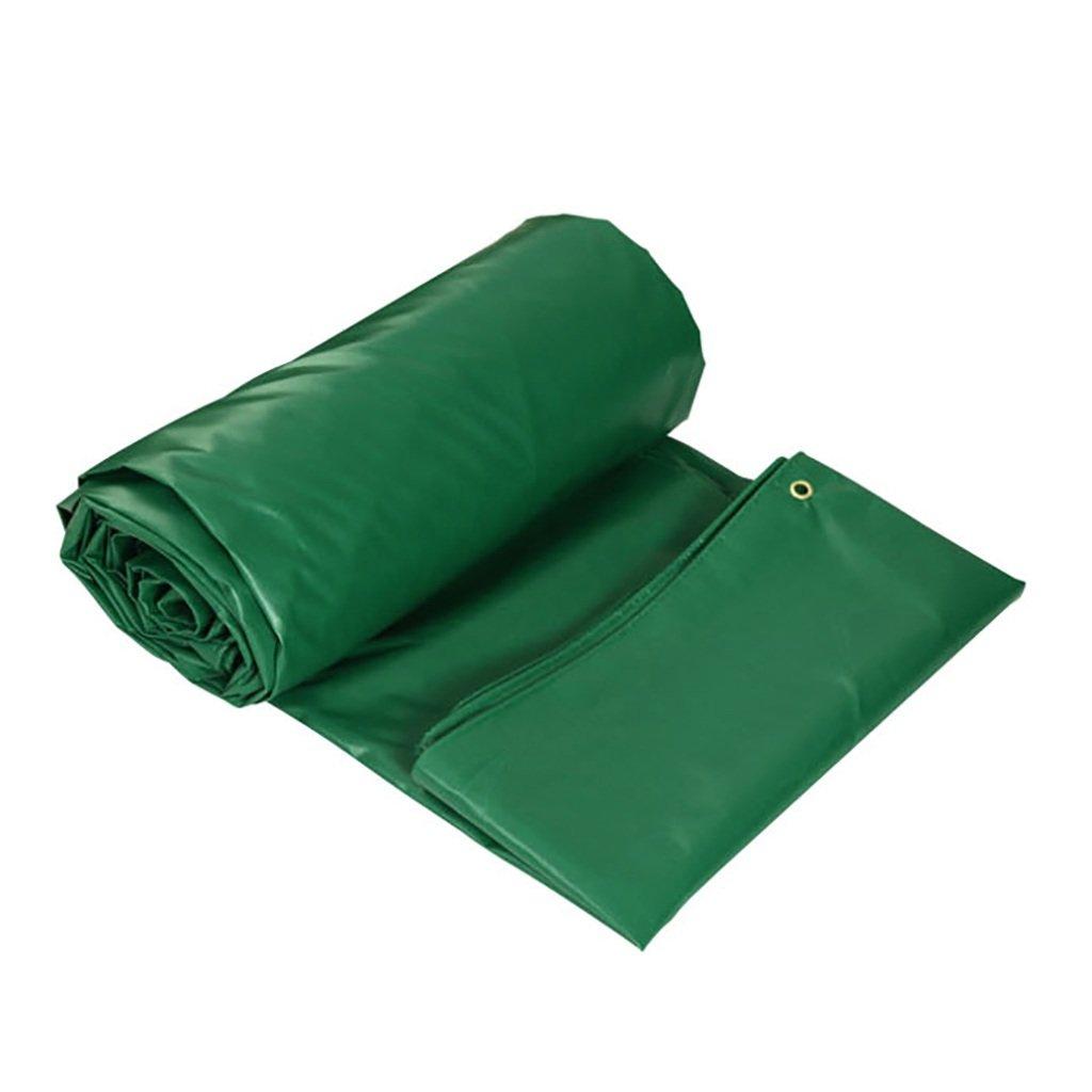 WFYB Lona de Lona impermeabilizada Verde Lonas Lonas Lonas al Aire Libre, 450G / m², Grosor 0.4MM, Tamaño 10 Disponible a4905b