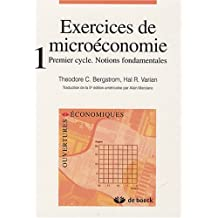 Exercices de microeco.t.01 3/e notions fond.