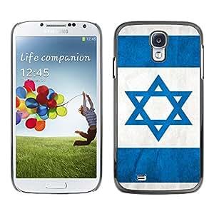 PC/Aluminum Funda Carcasa protectora para Samsung Galaxy S4 I9500 Israel Flag; / JUSTGO PHONE PROTECTOR