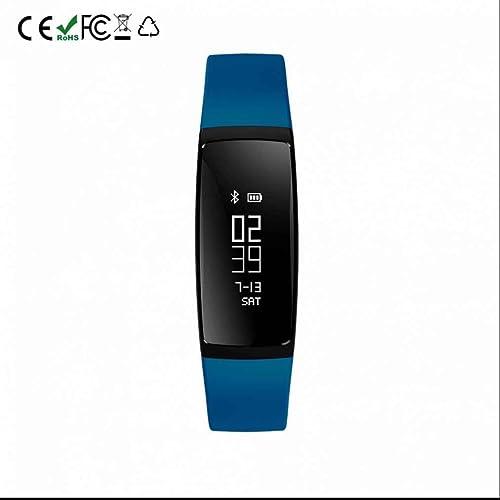 Bracelet Connecté,Montre Connectée Sport Fitness Tracker d'Activité Bracelet Intelligent avec Podomètre, Calorie, Sommeil, Alarm et Notification Appel & SMS/SNS Tracker de Fitness pour Femme Ho
