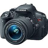 Canon EOS Rebel T5i SLR Digital Camera + EF-S 18-55mm IS STM Lens Kit + Accessory Bundle 64GB SDXC Memory + DSLR Photo Bag + Wide Angle Lens + 2x Telephoto Lens + Flash + Remote + Tripod & More