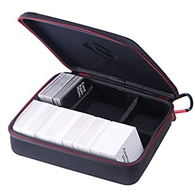 Smatree SmaCase H300 Carrying Case for C. A. H. Card Game(11.4   x 9.4   x 3.1  ), Black