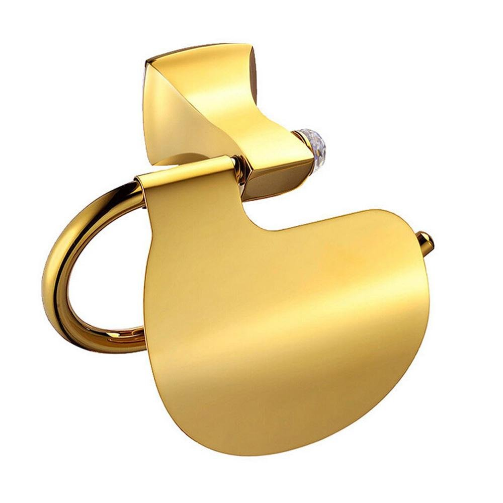 SSBY Luxury golden belt drill copper bathroom toilet paper holder by SSBY (Image #1)