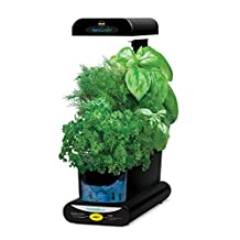 Miracle-Gro AeroGarden 3SL with Gourmet Herb 3-Pod Seed Kit, Black
