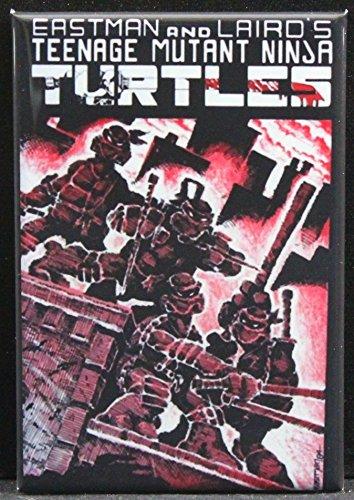 - Teenage Mutant Ninja Turtles #1 Comic Book Cover Refrigerator Magnet.