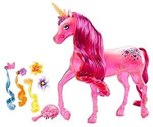 Barbie and The Secret Door Pink Unicorn Doll