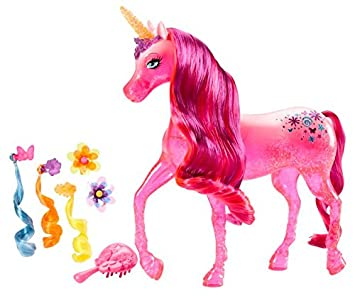 Amazon Es Barbie Unicornio La Puerta Secreta Mattel Blp40