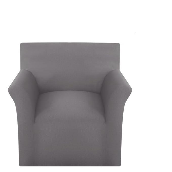 Festnight Funda elástica para sofá Tela algodón Gris: Amazon ...