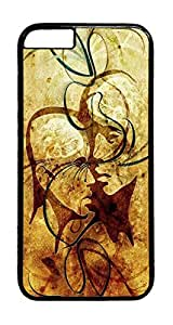 Amazing abstract PC Case Cover for iphone 6 4.7inch - Black