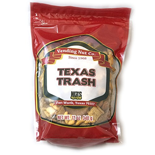 (NUTS Family Owned Trail Mix NEW LOOK! RESEALABLE (Texas Trash, 12oz))
