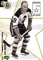 (CI) Eddie Shore Hockey Card 2003-04 Parkhurst Original Six Boston Bruins (base) 63 Eddie Shore