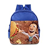 Cloudy With A Chance Of Meatballs Kids School Bag RoyalBlue