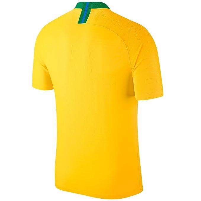 Nike Brasil CBF Stadium Away - Camiseta para niño: Amazon.es: Deportes y aire libre
