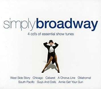 Simply Broadway - 4 Cds of Essential Show Tunes: Various ...