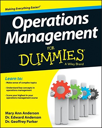 Download Operations Management For Dummies book pdf | audio