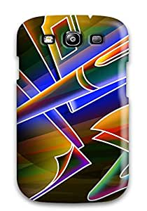 Galaxy S3 Case, Premium Protective Case With Awesome Look - Neon 7119140K75655553