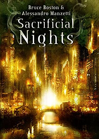 book cover of Sacrificial Nights