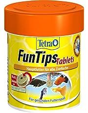 Tetra Tablety FunTips – przytrzymujące się do szyby akwarium, karma dla ryb, 75 tabletek