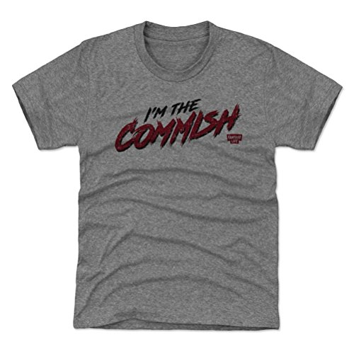 Rough 10 Bowl (500 LEVEL Fantasy Football Youth Shirt - Kids Large (10-12Y) Tri Gray - Fantasy Footballl Commish Rough)