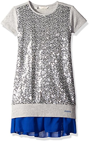 Sequin Trimmed Dress - 9