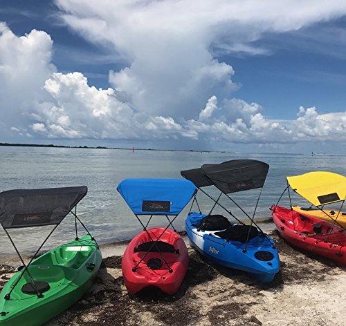 Adventure Canopies Kayak Sunshade (Marine Blue, 9 to 11ft Kayaks)