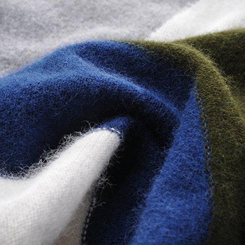 Zhili Women's 100% Pure Cashmere Round Neck Long Sleeve
