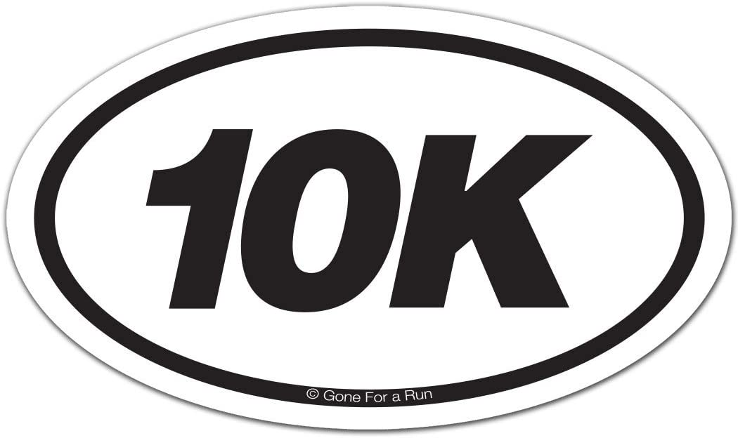15k running decal for cars in white