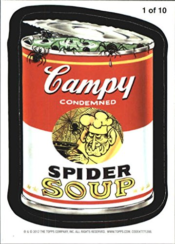 Soup Magnet (2012 Wacky Packages Series 9 Magnets #1 Campy Soup - NM-MT)