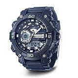 2(X)IST Men's 'C40' Quartz Resin and Rubber Sport Watch, Color:Black (Model: 37300030)