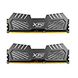 ADATA XPG V2 DDR3 2400MHz (PC3 19200) 16GB (8GBx2) Memory Modules, Tungsten Grey (AX3U2400W8G11-DMV)