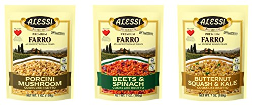 - Alessi Variety Pack, Farro, 3 Count