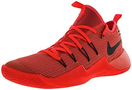Nike Mens Rosso Hypershift Basket Alla Caviglia-alta Scarpa Università / Nero