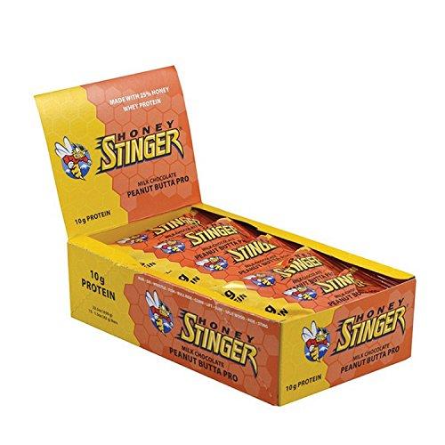 HONEY STINGER Food Peanut Butter Pro Protein Bar