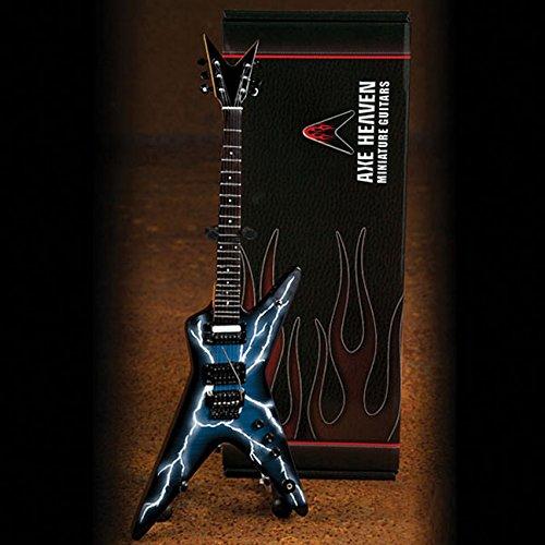 Dimebag Darrell Lightning Bolt Signature Model: Miniature Guitar Replica Collectible